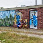 Polski hydraulik ;) – mural na przepompowni