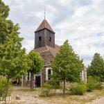 Kościół ewangelicki w Meiersbergu. Wybudowany z kamienia polnego w 1827 roku