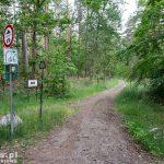 Na tym odcinku szlak pokrywa się ze szlakiem Odra -Nysa.
