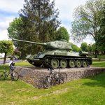 Czołg T34/85 odrestaurowany przez uczniów i nauczycieli centrum edukacji zawodowej