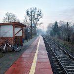 Zmodernizowany przystanek we Wirach. Nowy peron i wiata