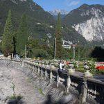 Riva del Garda. Nad głową cel naszej wycieczki