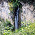 Wodospad w dolinie Ledro