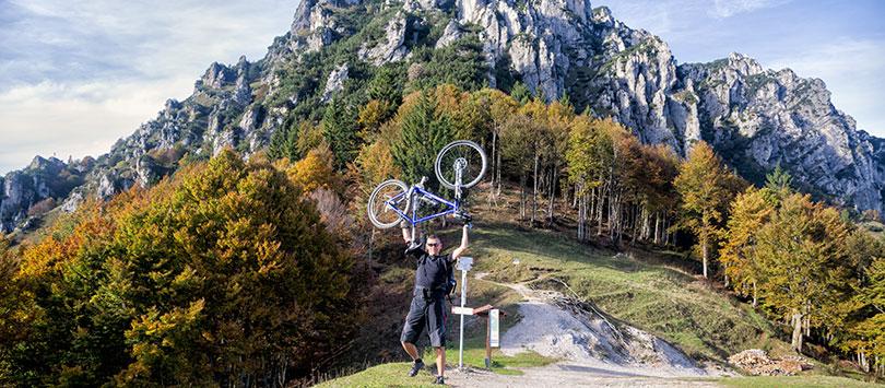 Ninio Pernici. Zdobywamy przełęcz Bocca di Trat