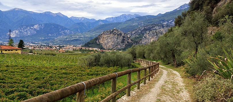 Anello Garda Sarca - pierścień rowerowy w dolinie rzeki Sarca