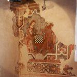 XIV wieczne freski w zamku