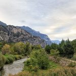 Droga rowerowa nad rzeką Sarca