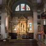 Wnętrze kościoła w Arco