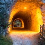 Ostatni tunel przed Riva del Garda