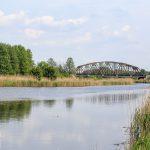 Noteć. Most na linii kolejowej Poznań – Krzyż