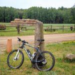 Na końcu wsi Zielonowo stary kamienny znak