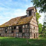 Przeborowo – kościół z 1715 roku o konstrukcji szkieletowej