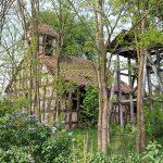 Przeborowo – kościół i dzwonnica
