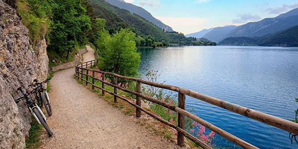 Lago di Ledro – wokół jeziora Ledro