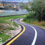 Nowa droga rowerowa przy kanale Adygi