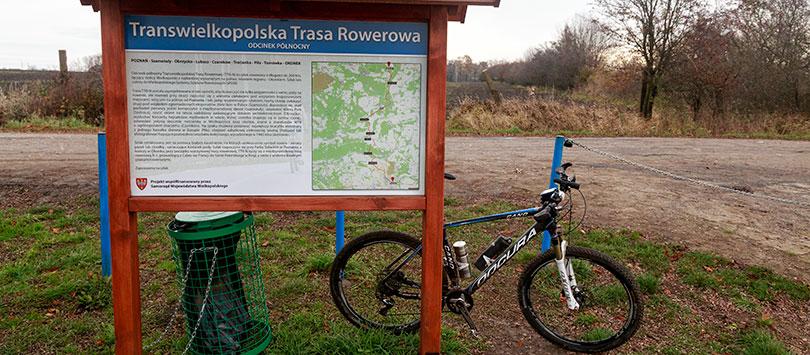 Transwielkopolska Trasa Rowerowa odcinek północny czyli TTR-N