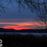 Wschód słońca nad J. Rusałką