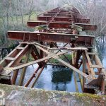 Kolejny most na Gwdzie